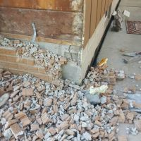house front rebrick insurance damage claim