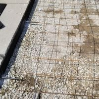 Stamped concrete Mokena School